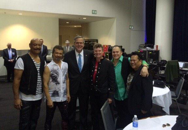 San Francisco's Ultimate Tribute to Journey and Jeb Bush - 1/23/15